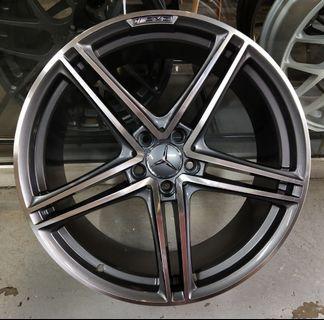 """20"""" AMG after market rim for Mercedes"""