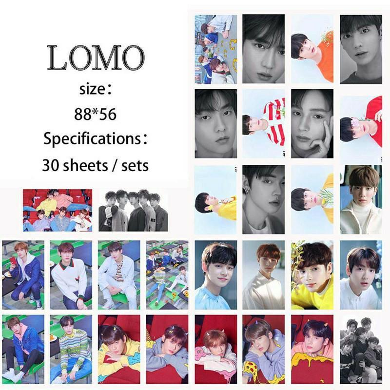 30 pcs foto cards lomo cards TXT