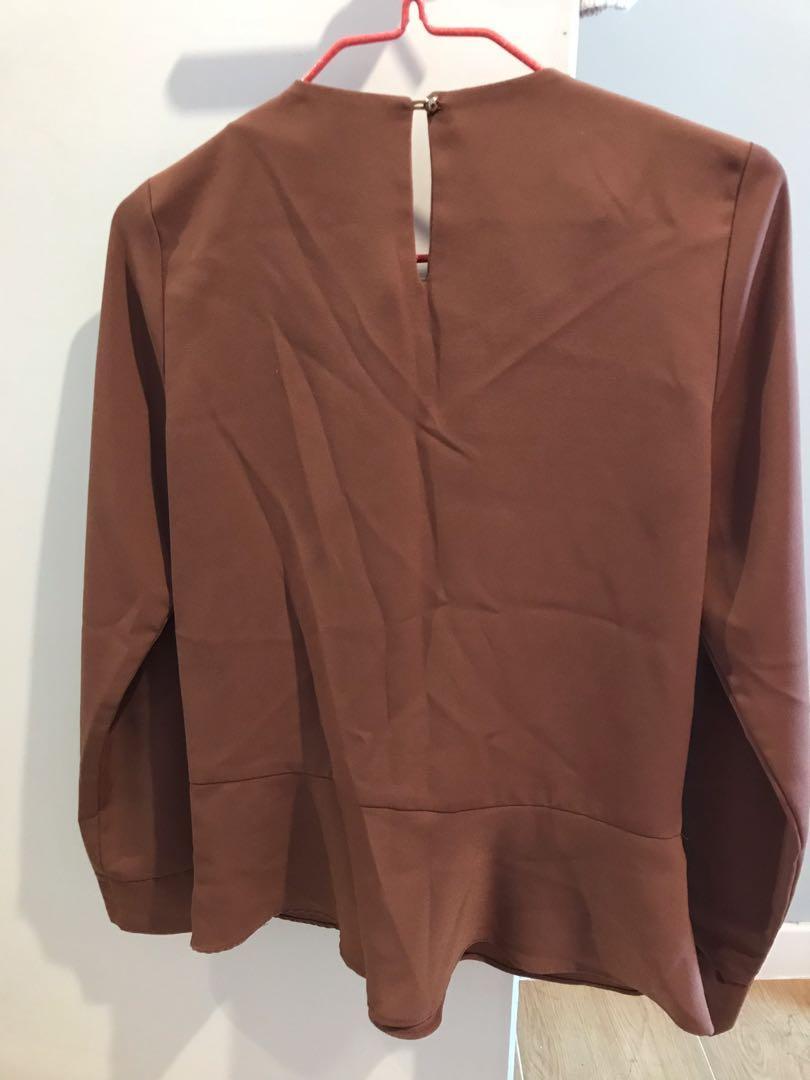 (98% new, made in Korea) 韓國 Damotori 返工衫, 質地靚, 2折賣