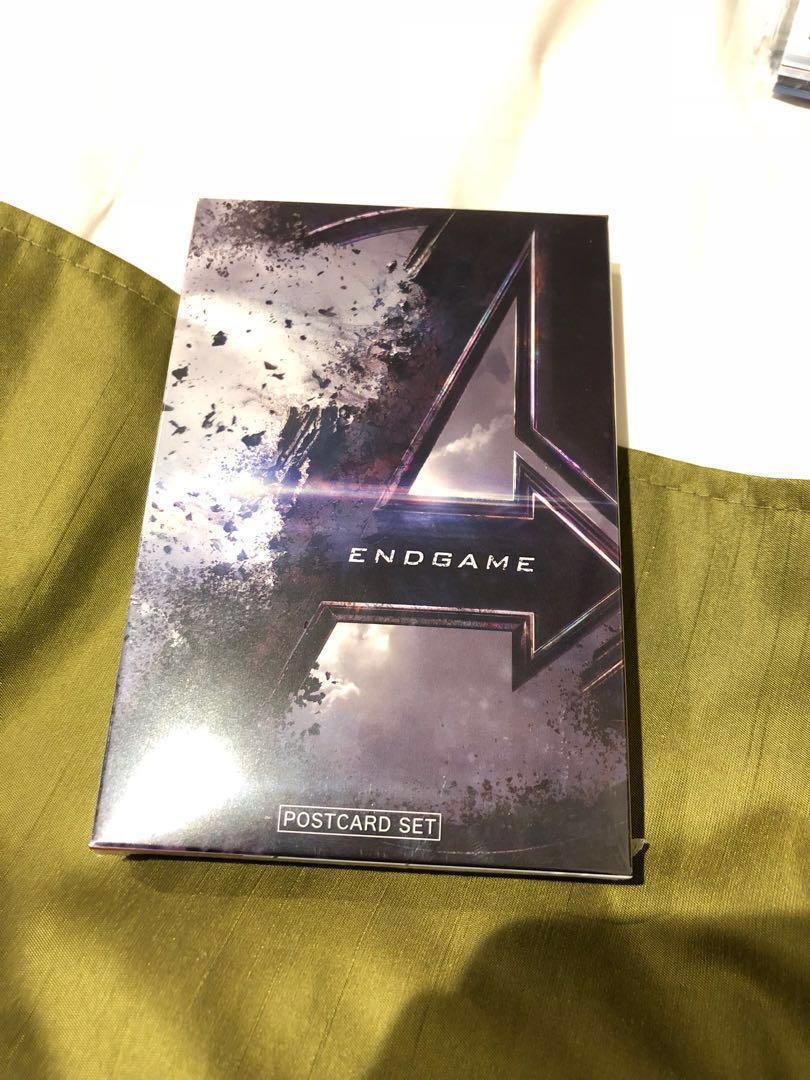 [全新日版]復仇者聯盟 Avengers Endgame postcard Ironman