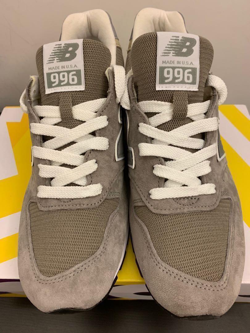 reputable site 6efb2 5a811 全新 New Balance 996 OG Grey Made in USA