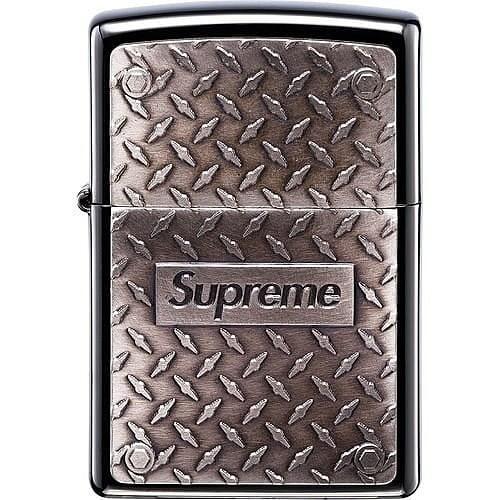 [預購 ]SUPREME  Diamond Plate Zippo 打火機