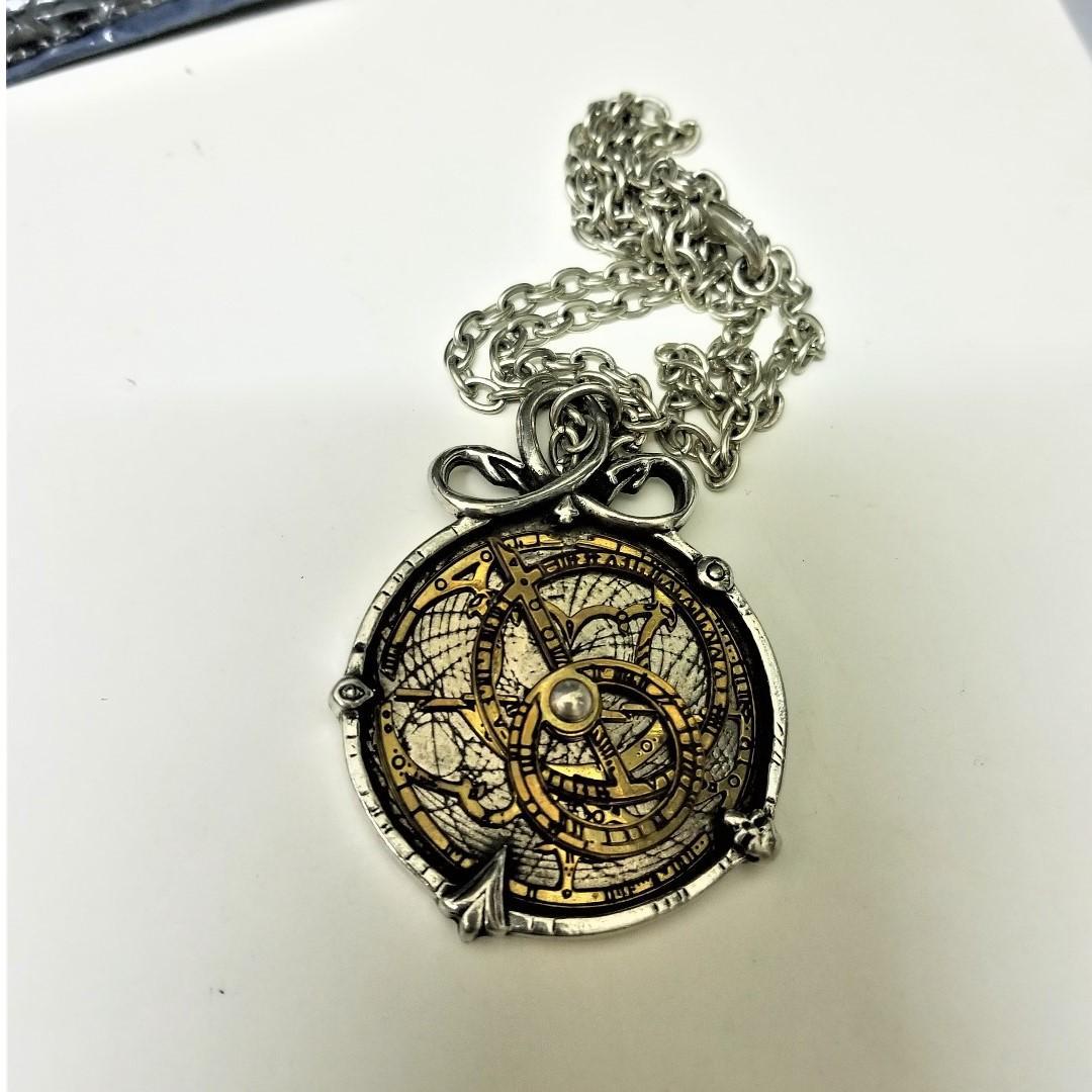 Alchemy Anguistralobe 羅盤頸鏈 handmade