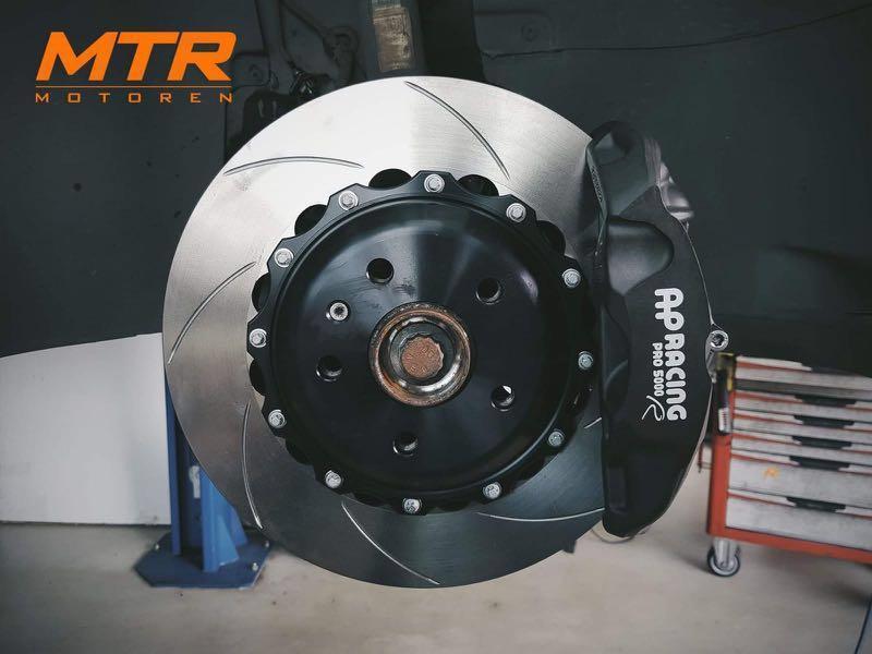 AP Racing Pro5000r 4 Pot BBK with 330mm Rotor, Car