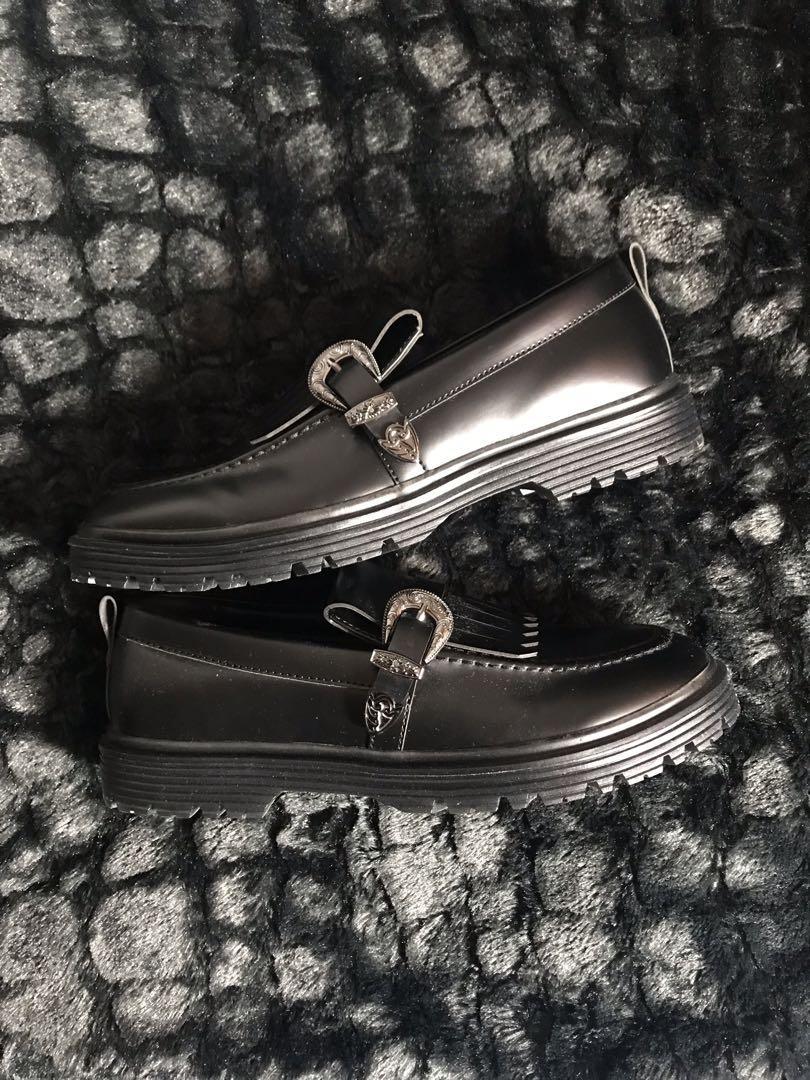 Asos dress shoes in black size UK8- US9