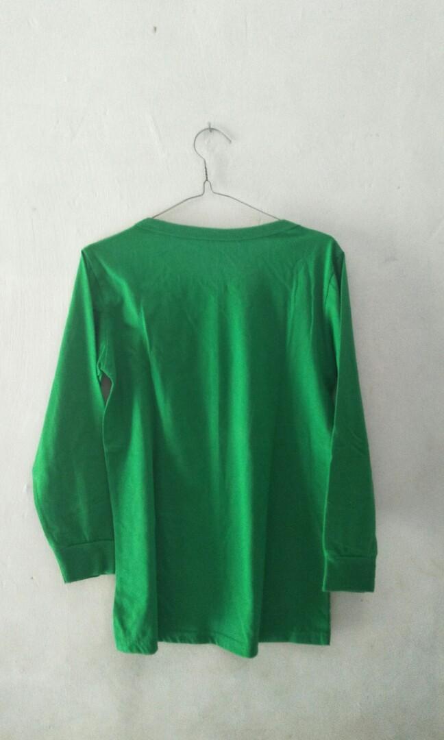 Atasan panjang hijau
