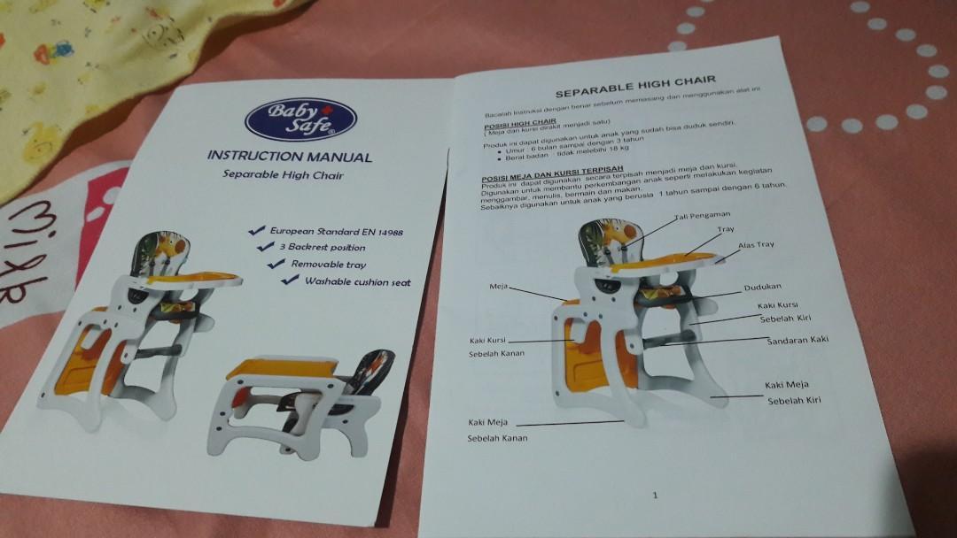 free ongkir Baby Chair High Chair Kursi Makan FREE Ongkir via JTR JNE