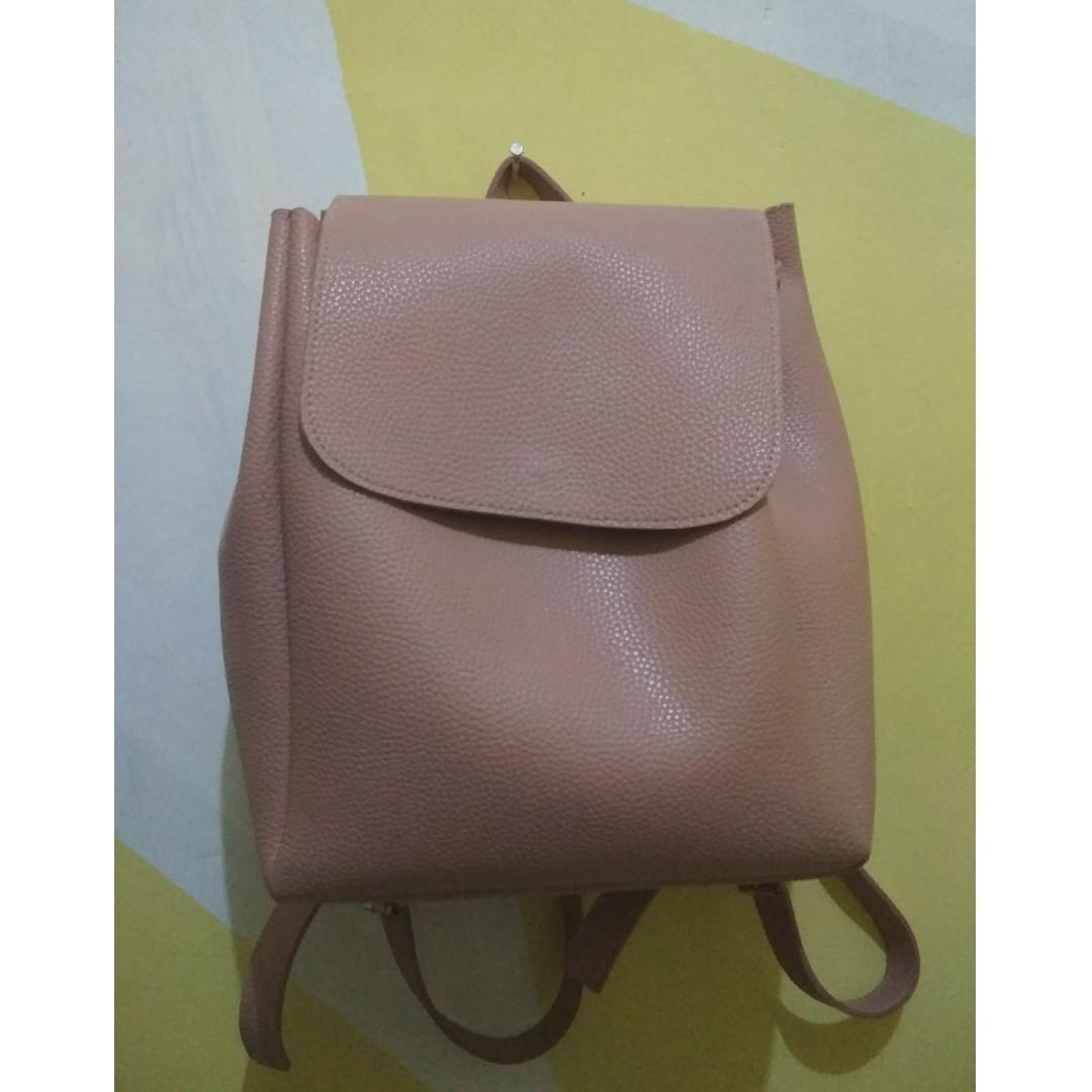 Backpack Miniso Pink #BAPAU