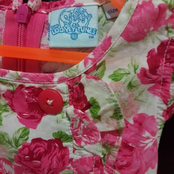 Baju Dress Bayi Perempuan LOONEY TUNES size 3-9 bulan