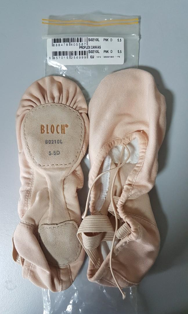 BALLET slippers, brand new, BLOCH