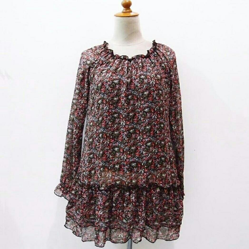 #BAPAU florak blouse
