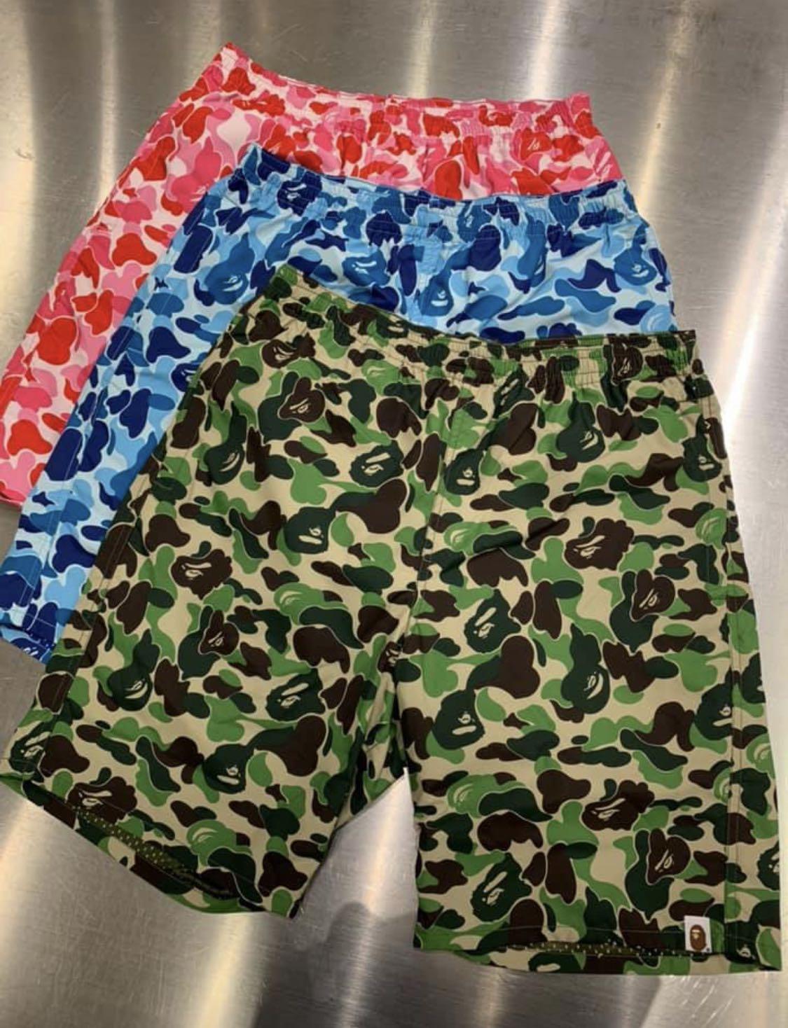 ce99a5f2 BAPE ABC BEACH PANTS, Men's Fashion, Clothes, Bottoms on Carousell