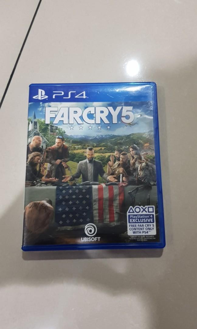 WTS BD PS4 Far Cry 5