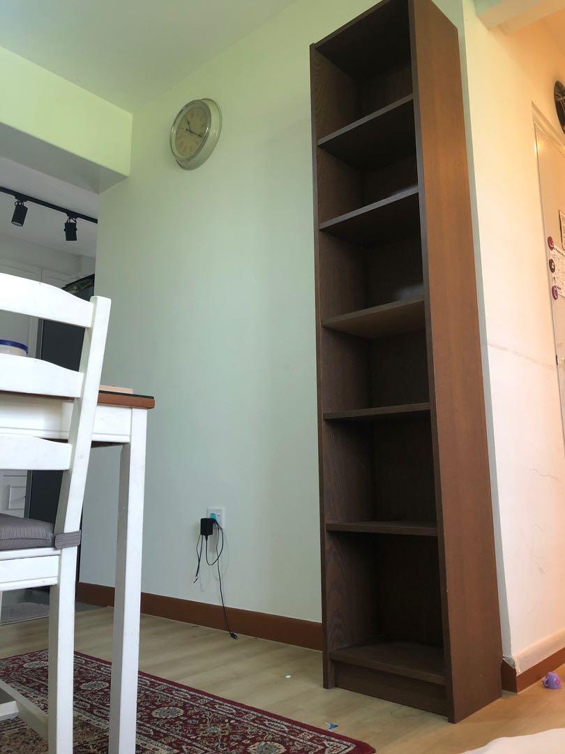 Billy Bookcase Bookshelf Black Brown