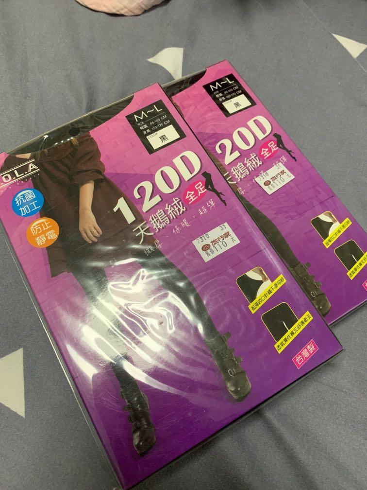 Black Stockings 120 Denier