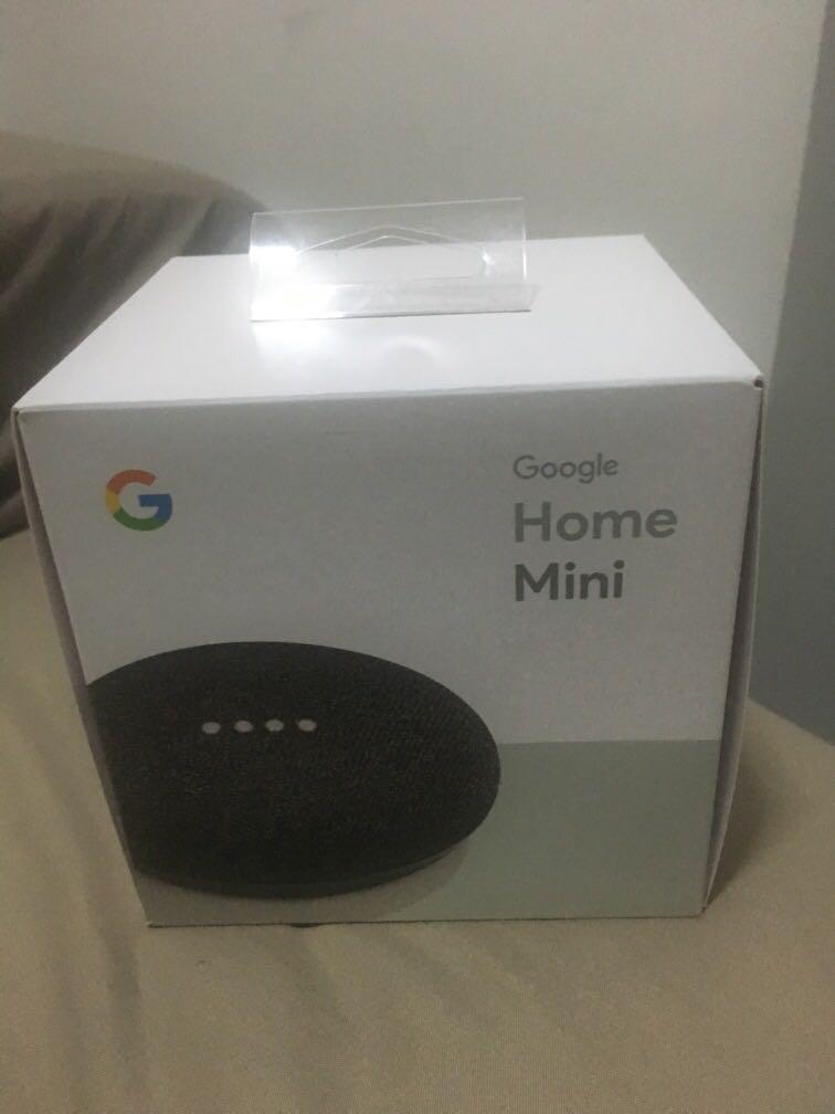 Brand new in box Google Home Mini