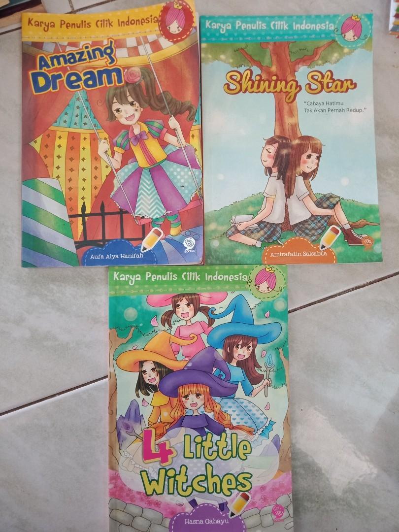 Buku anak preloved -  Karya Penulis cilik Indonesia - KPCI