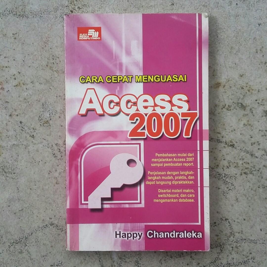 Buku Cara Cepat Menguasai Access 2007 #BAPAU