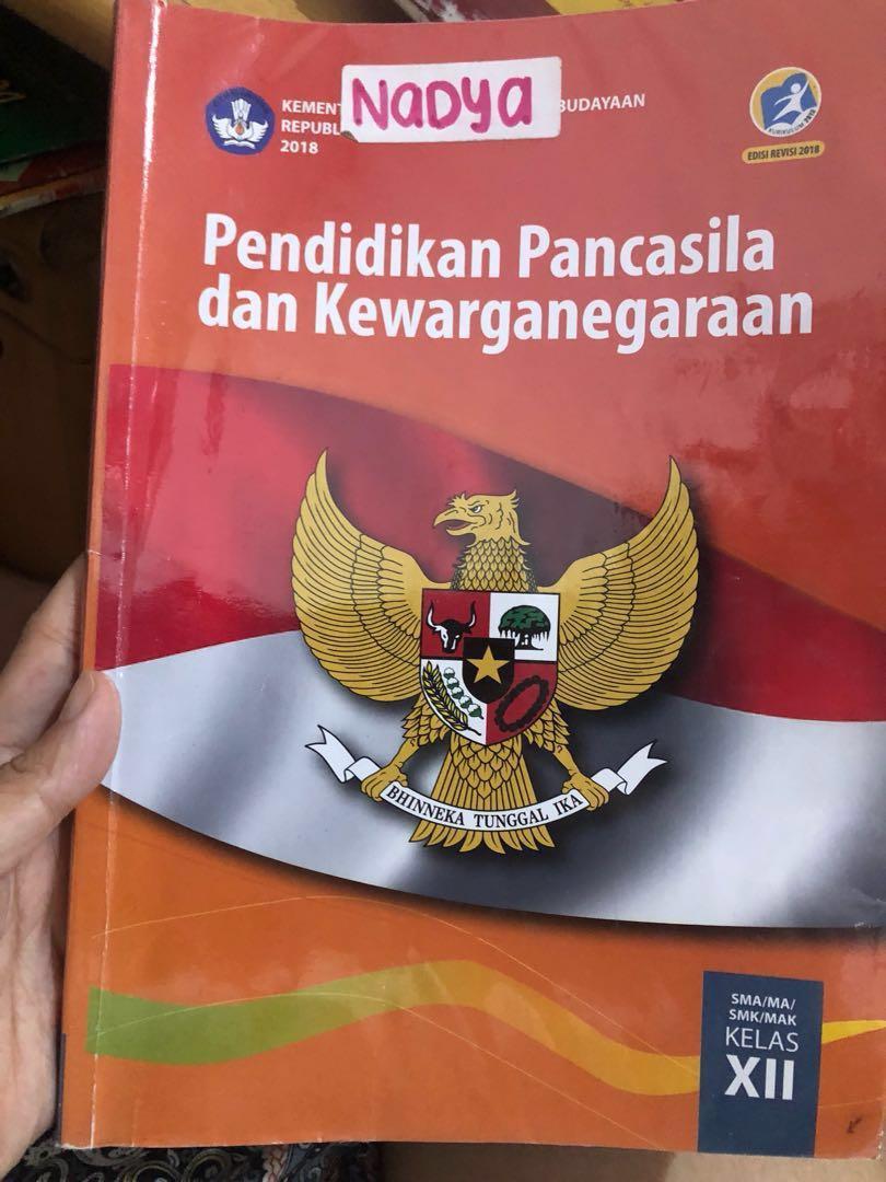 Buku cetak pkn