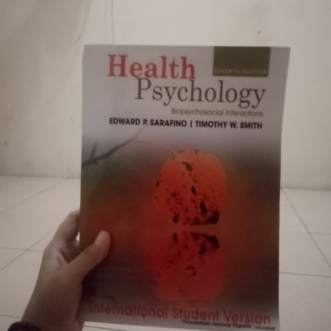 Buku psikolog (health psychology)