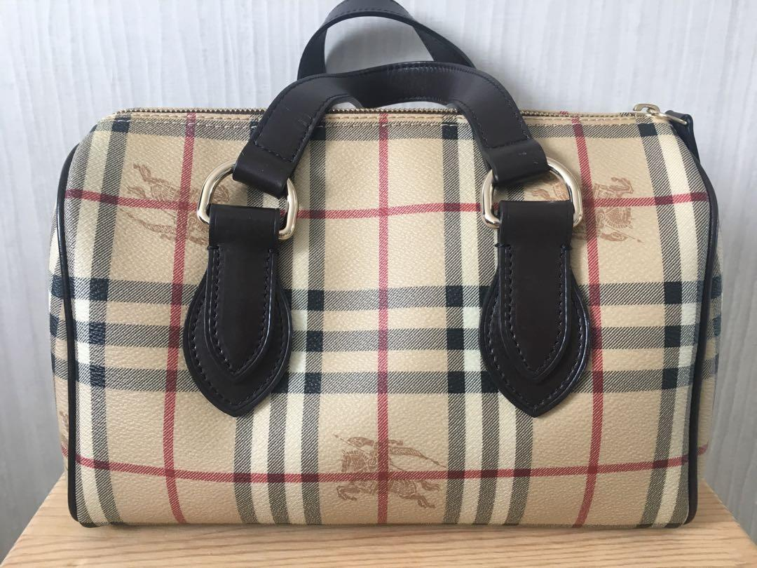 Burberry Bowler's bag
