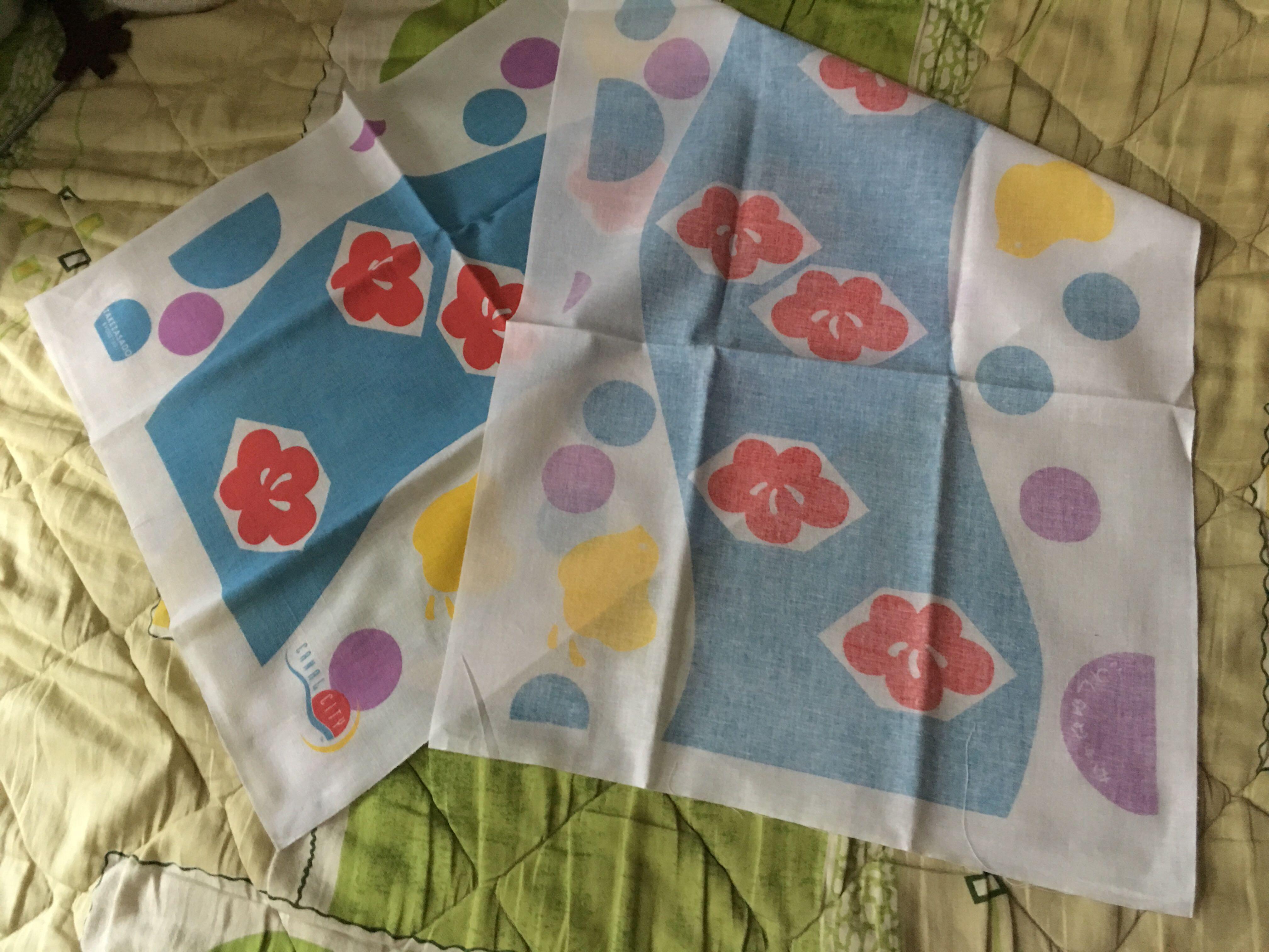 日本製Canal City 風呂手巾
