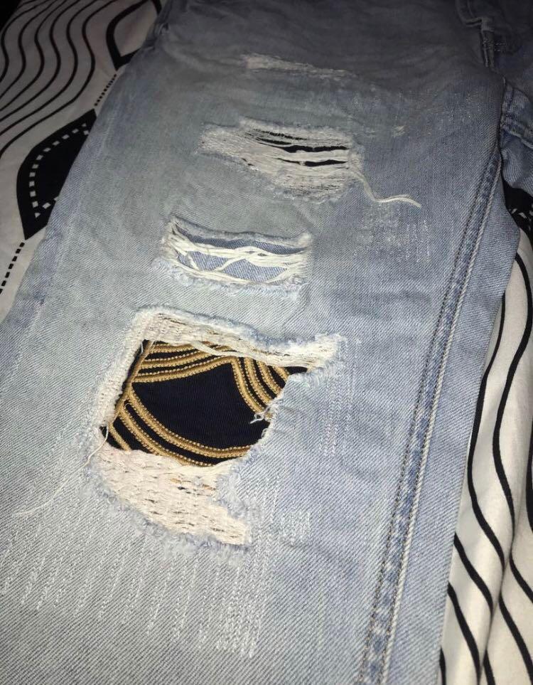celana jeans by ZARA