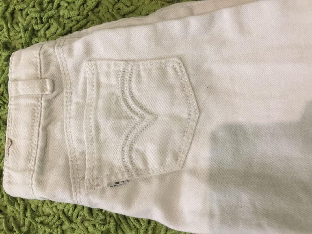 Celana Legging H M Dan Jeans Skinny Levis Babies Kids Girls Apparel 4 To 7 Years On Carousell