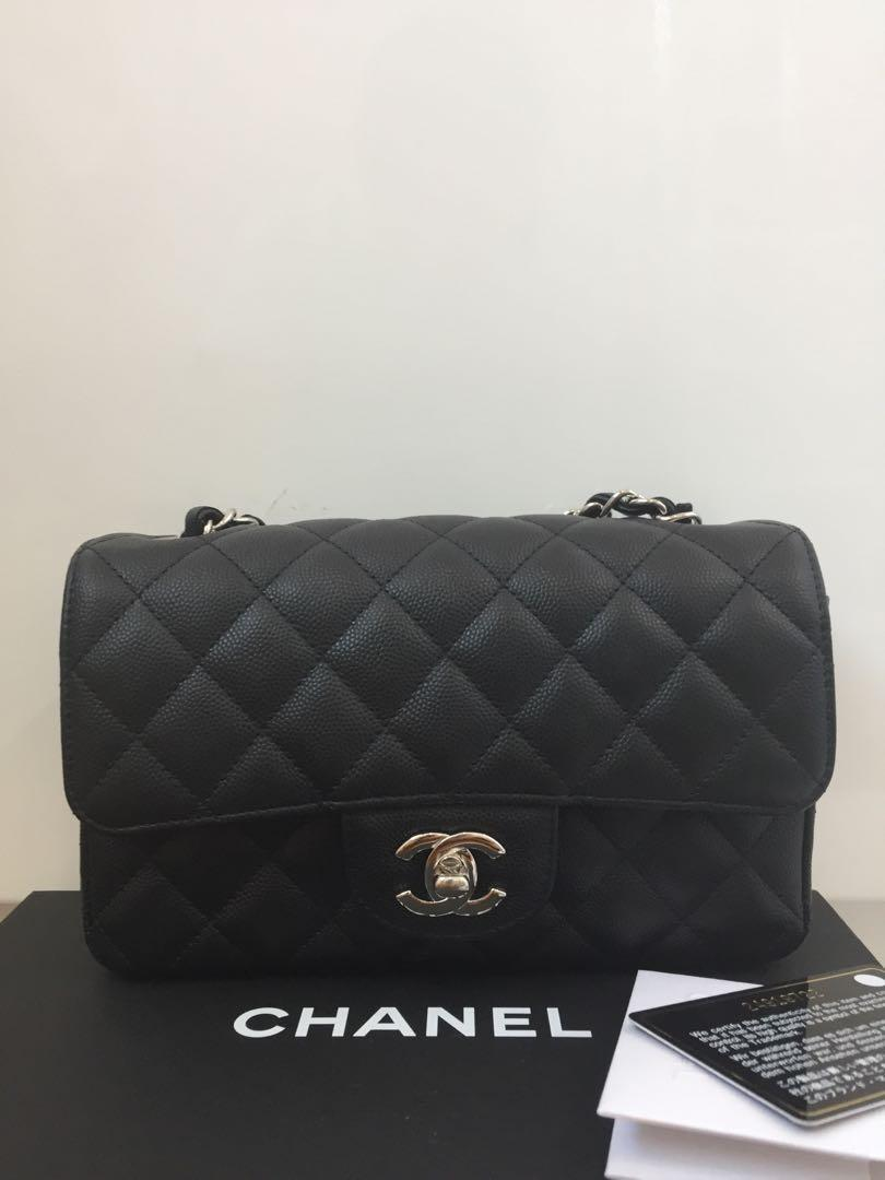 Chanel mini 8' rectangular authentic