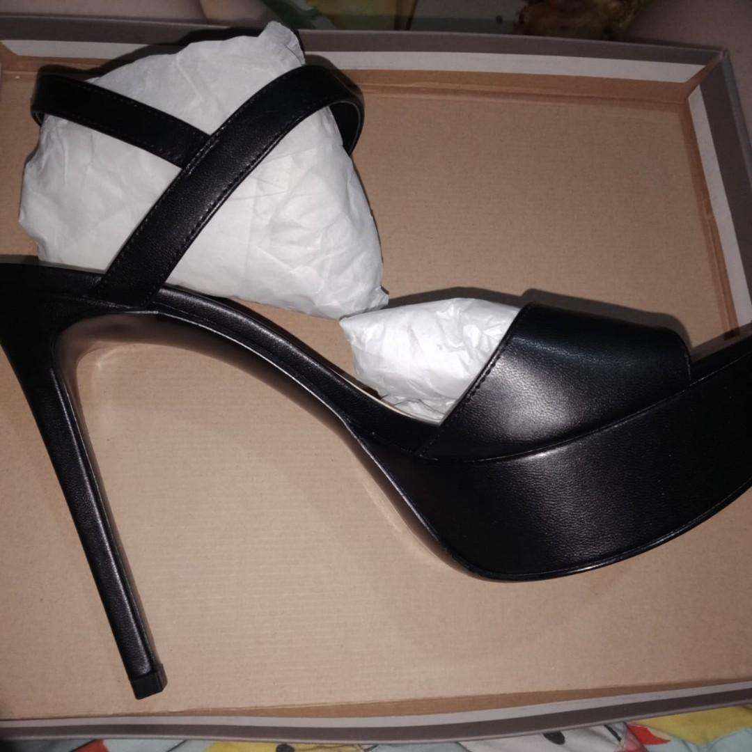 Charles and Keith Black Heels