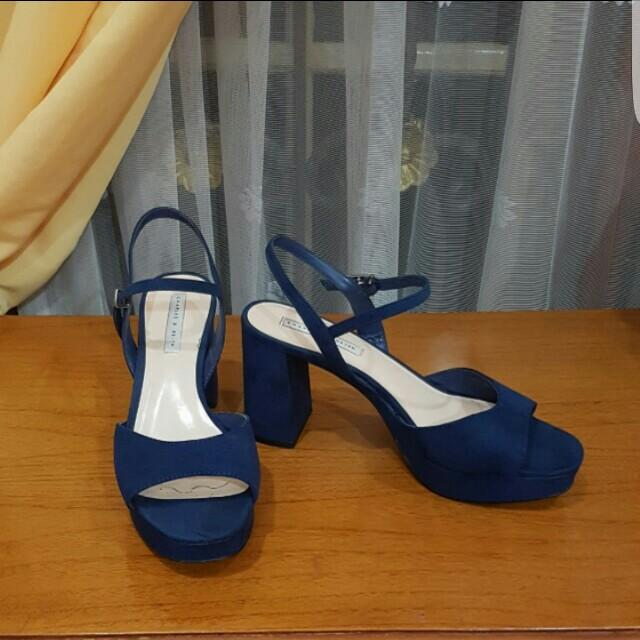Charles&Keith Blue shoes
