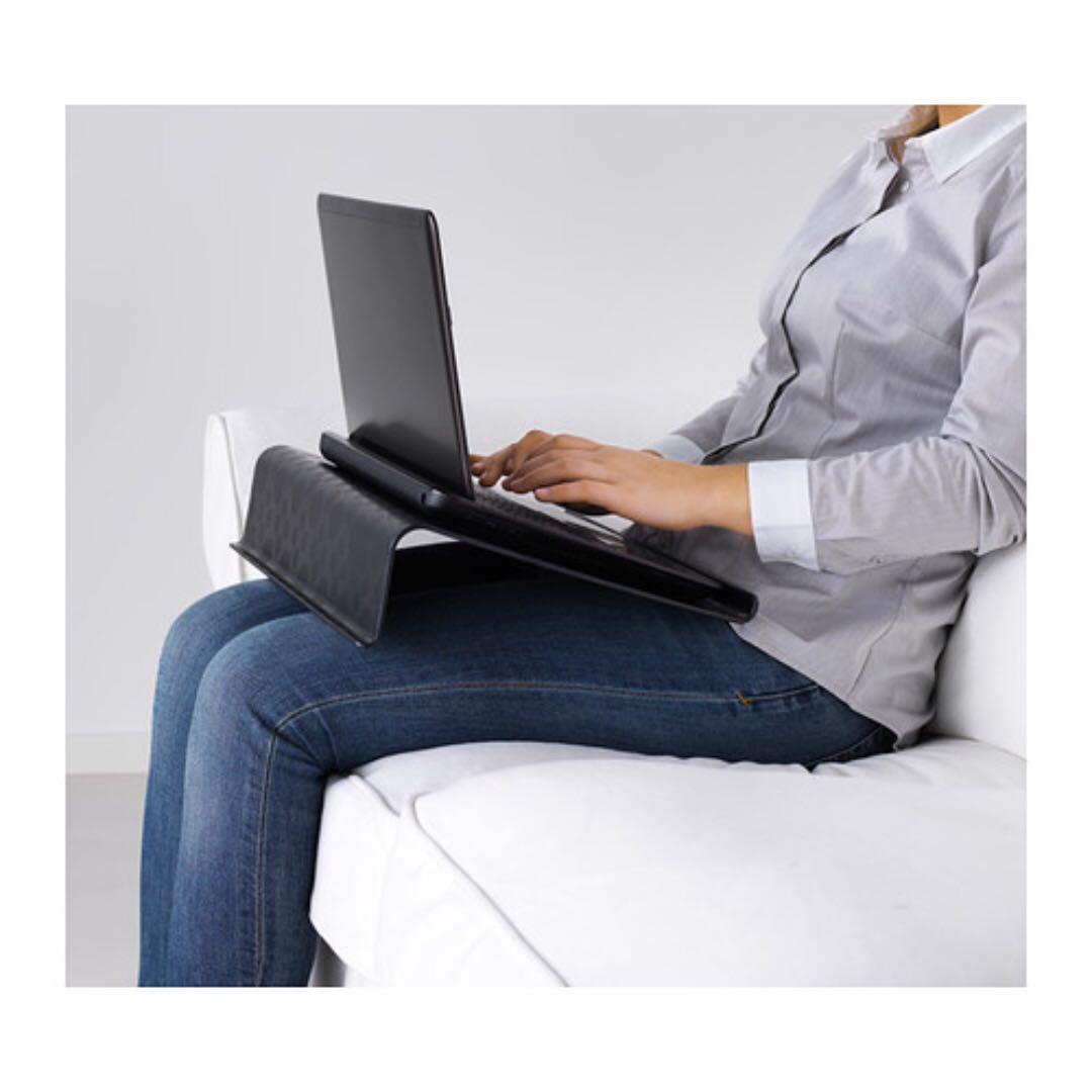 #CintaiBumi Meja/ alas laptop (black)