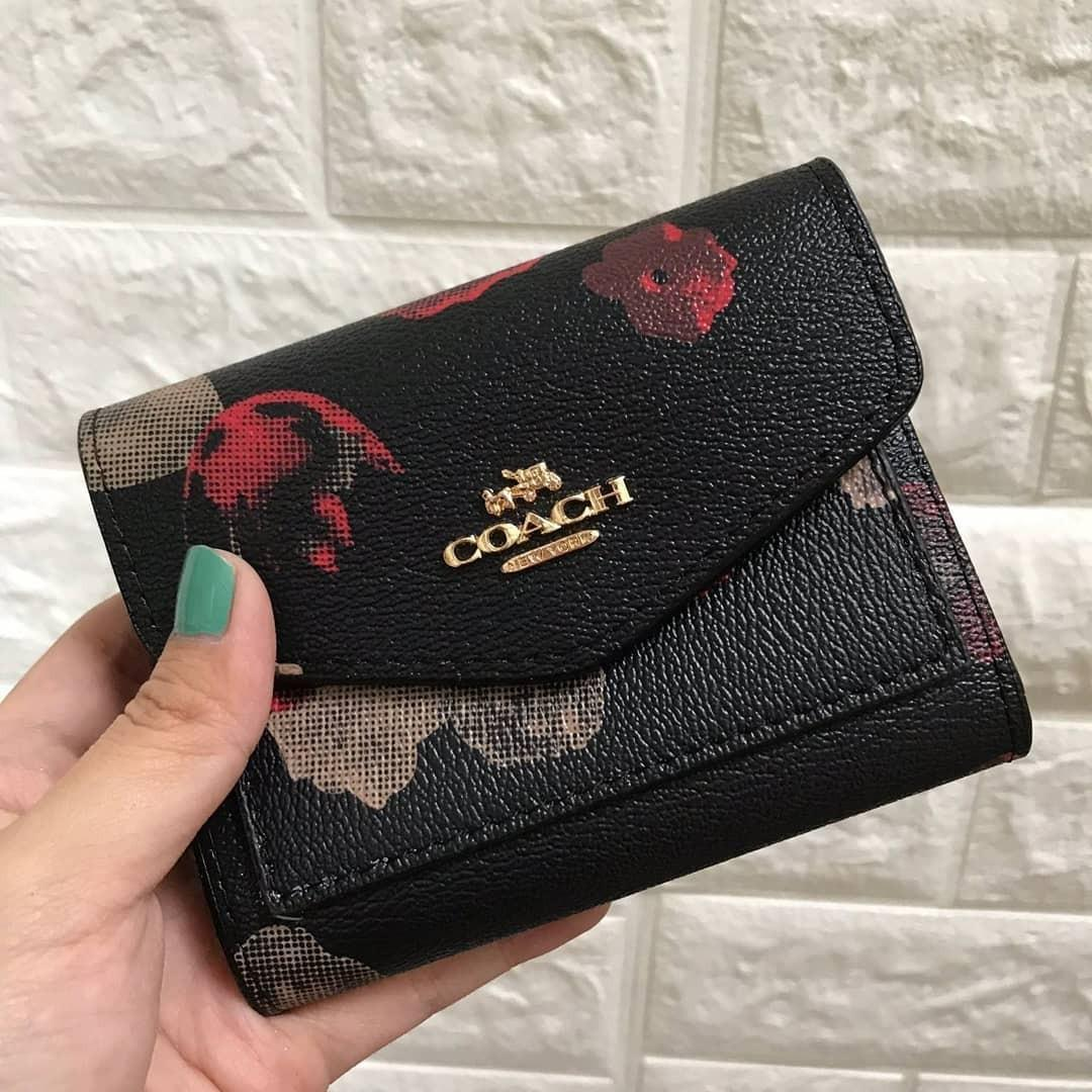 Coach envelope mini wallet