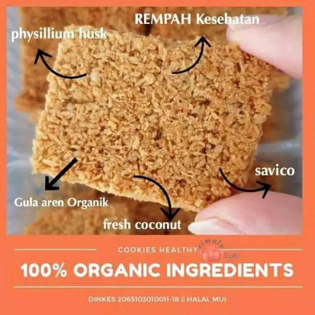 Diet cookies sunny&co | cemilan sehat