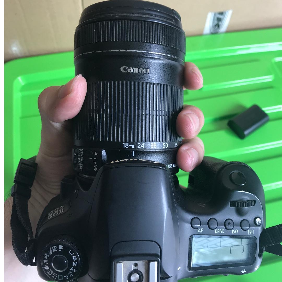Dijual CANON 60D + Lens kit 135 mm