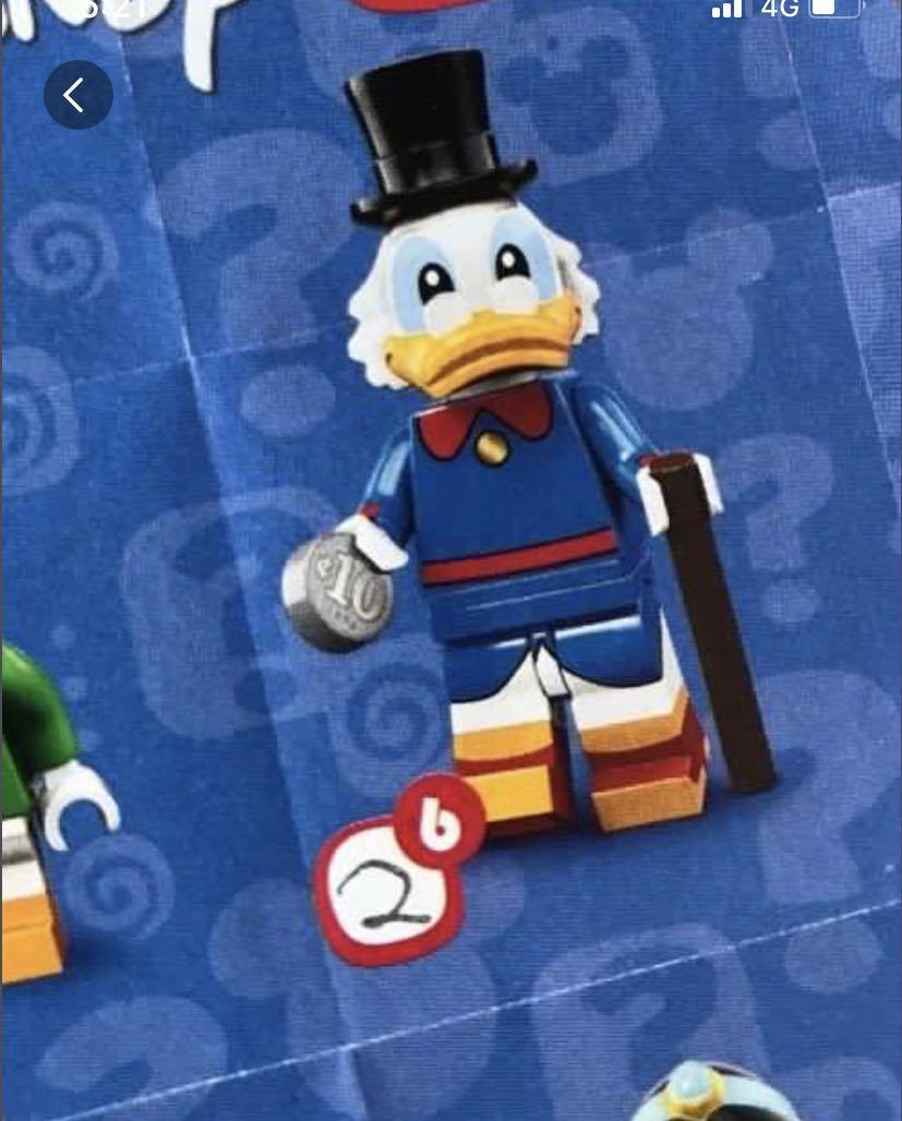Disney mini figures series 2 - Scrooge