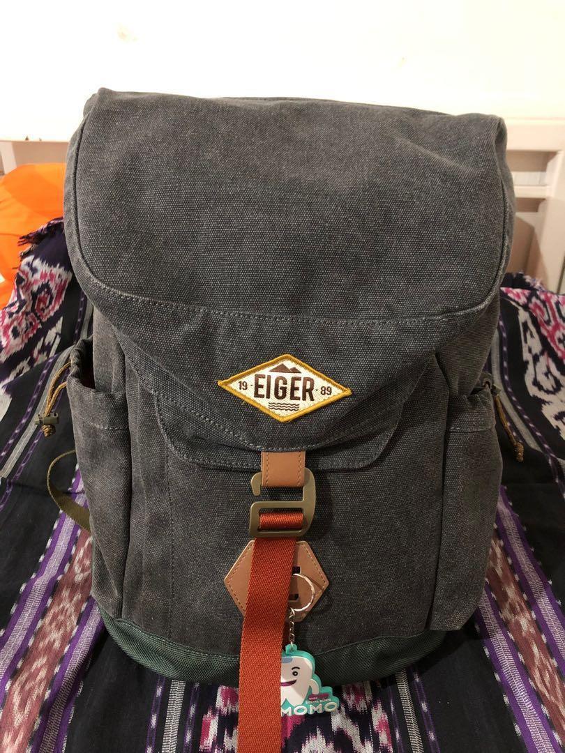 Eiger 1989 Shore Canvas Backpack 25L