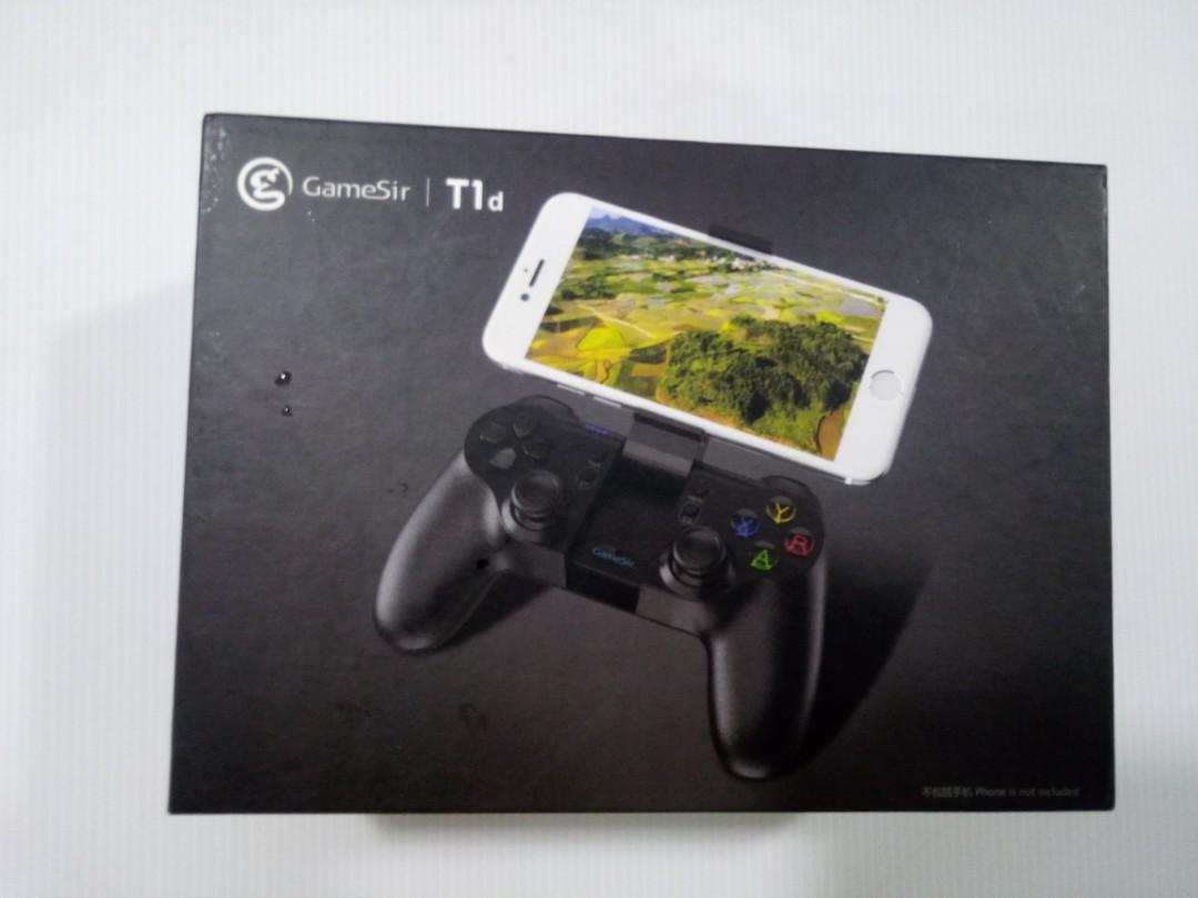 GameSir T1d Controller,Remote Controller Joystick for DJI Tello Drone  ios7 0+ Android 4 0+