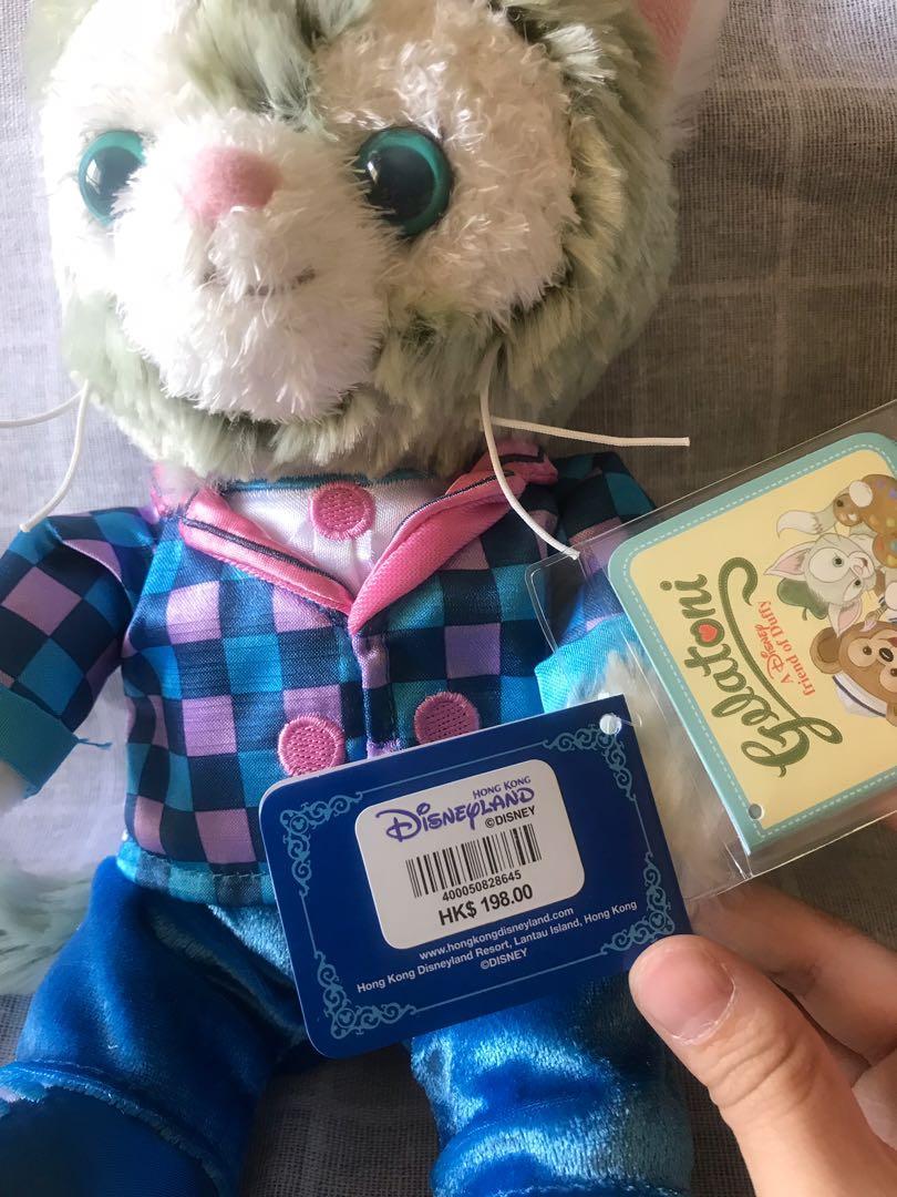 全新迪士尼gelatoni 畫家貓原價售出,購自香港迪士尼