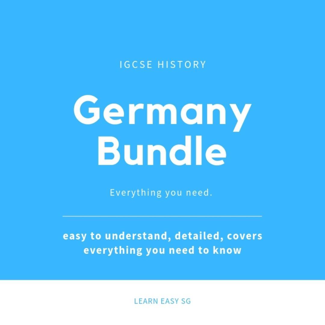 Germany Bundle: IGCSE History