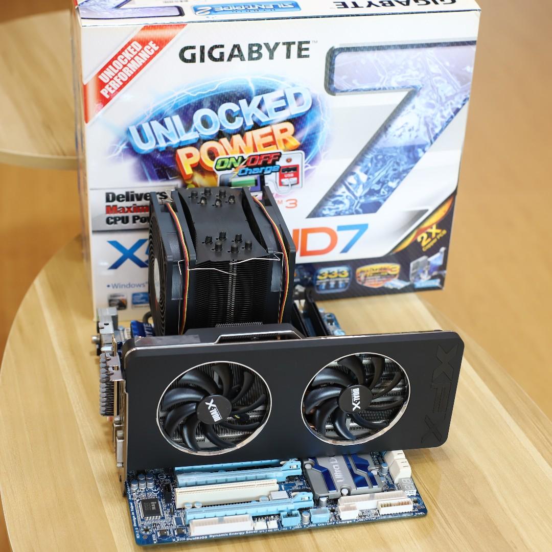 GIGABYTE X58A-UD7 Xeon X5680 G Skill 12gb Thermalright