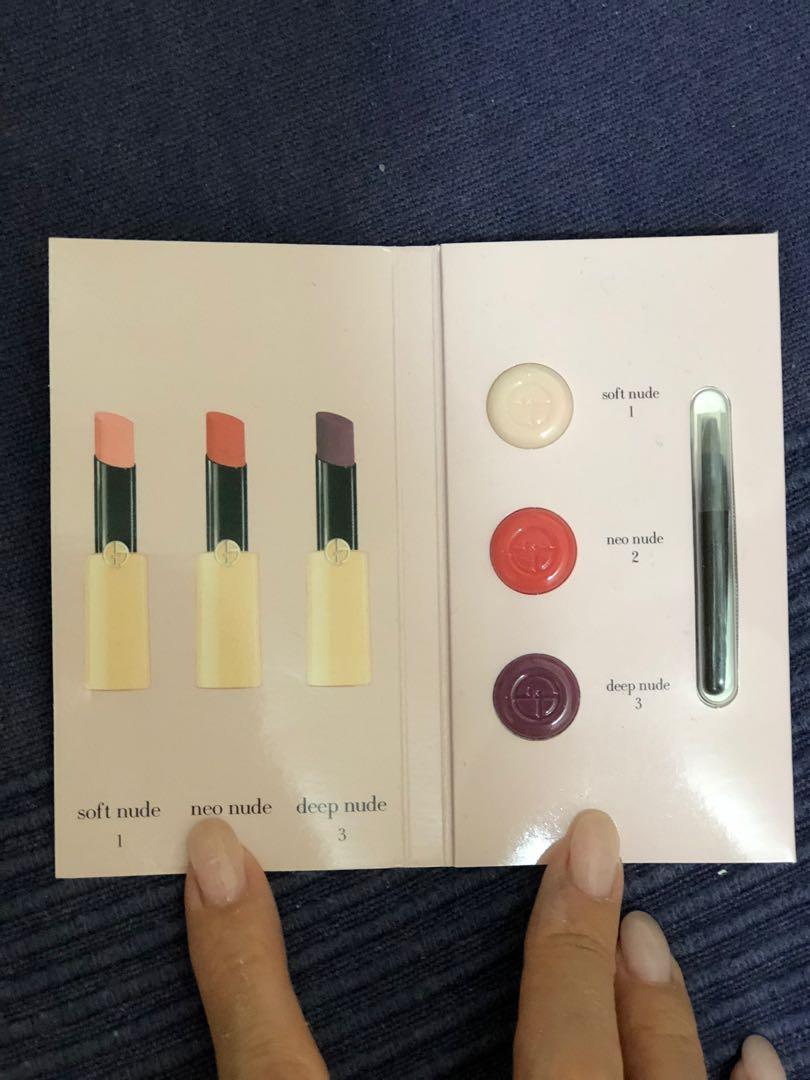 Giorgio Armani lip3 colour