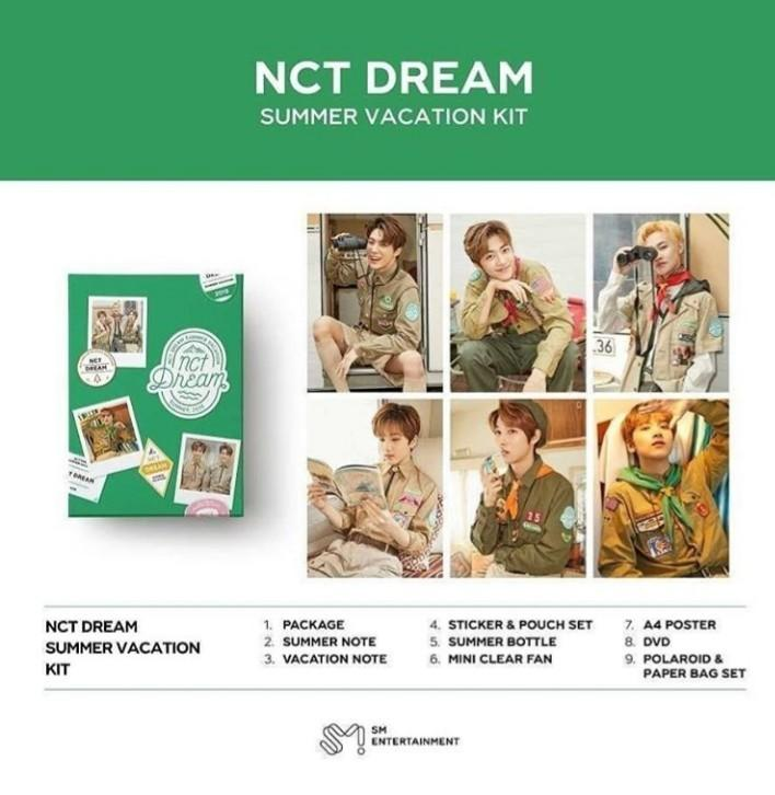 (GROUP BATCH)  NCT127 & NCT DREAM - SUMMER VACATION KIT