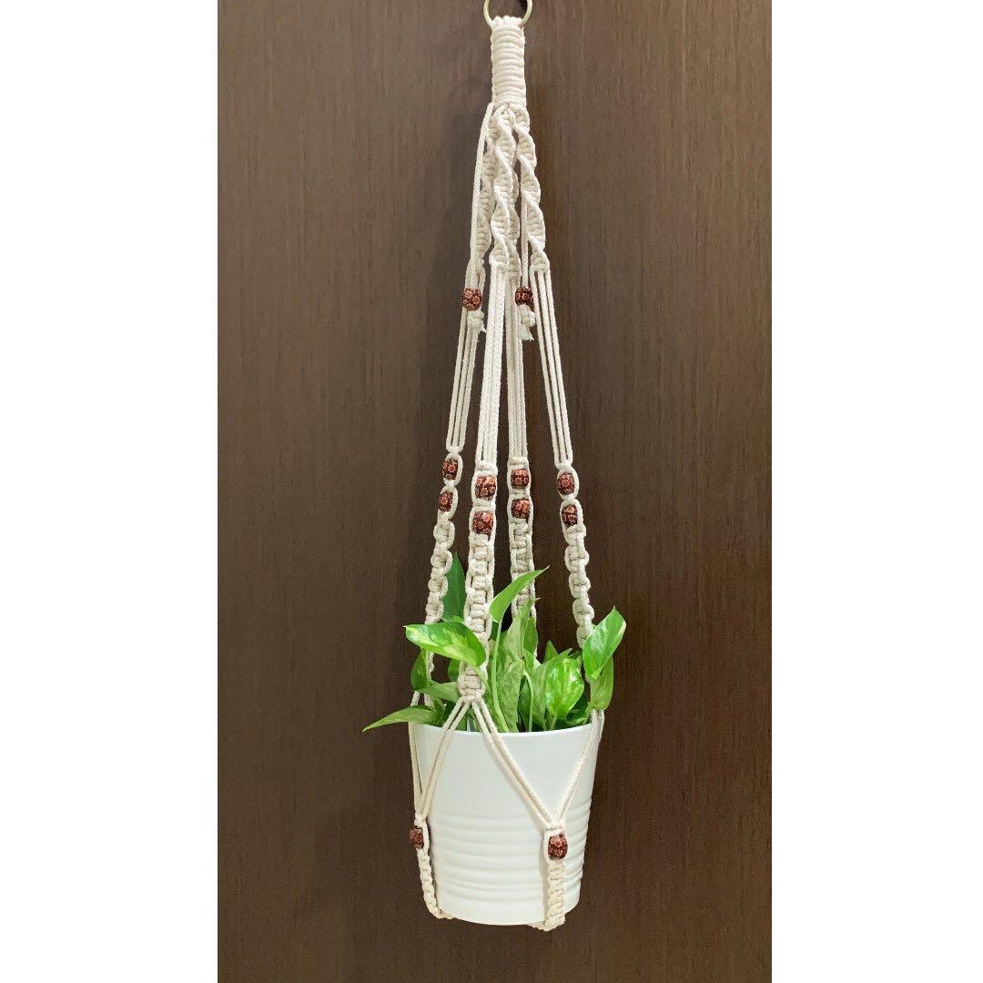 Handmade Macrame Plant Hanger (003)
