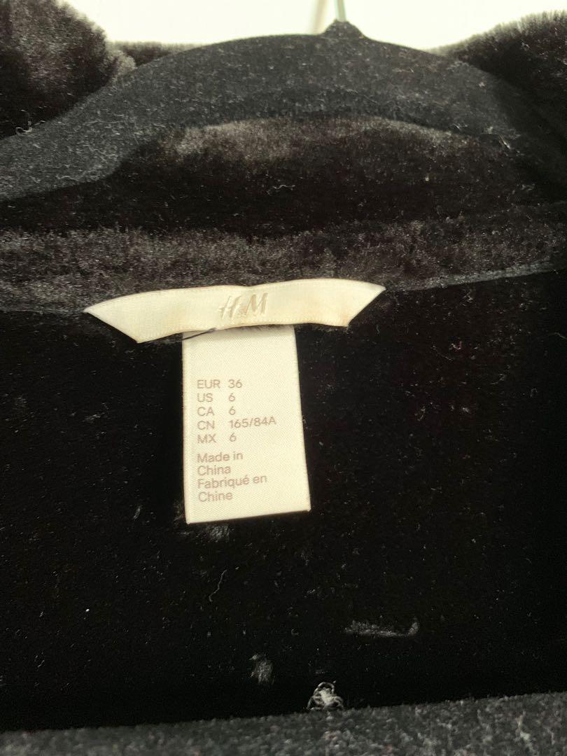 H&M Shearling jacket