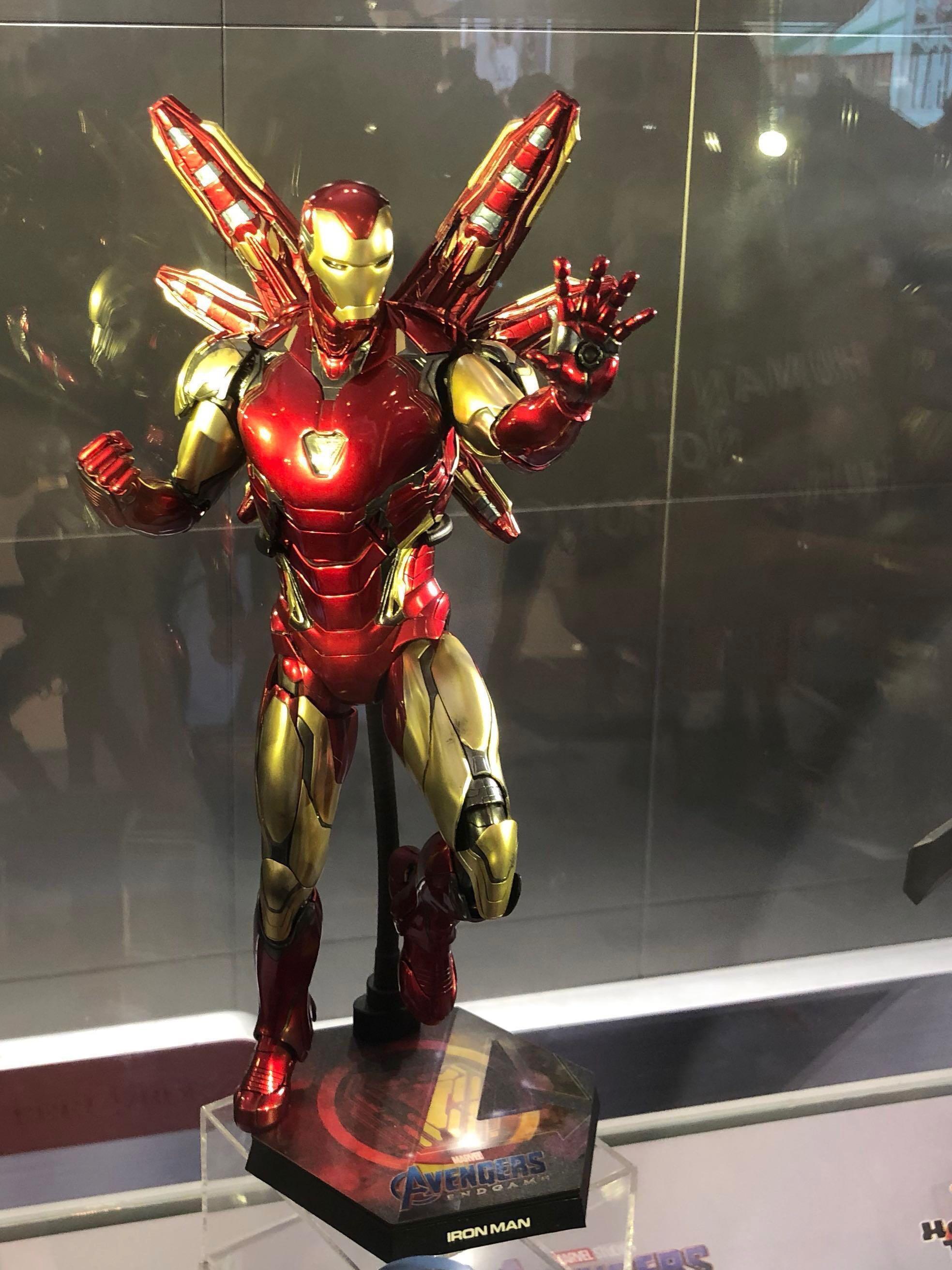 Hottoys marvel avengers endgame iron man mk 85 訂單