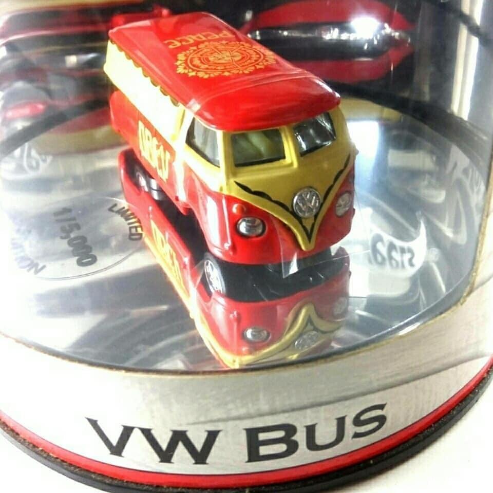 Hotwheels Oil Can Volkswagen Bus OBEY, Petersen Automotive Museum