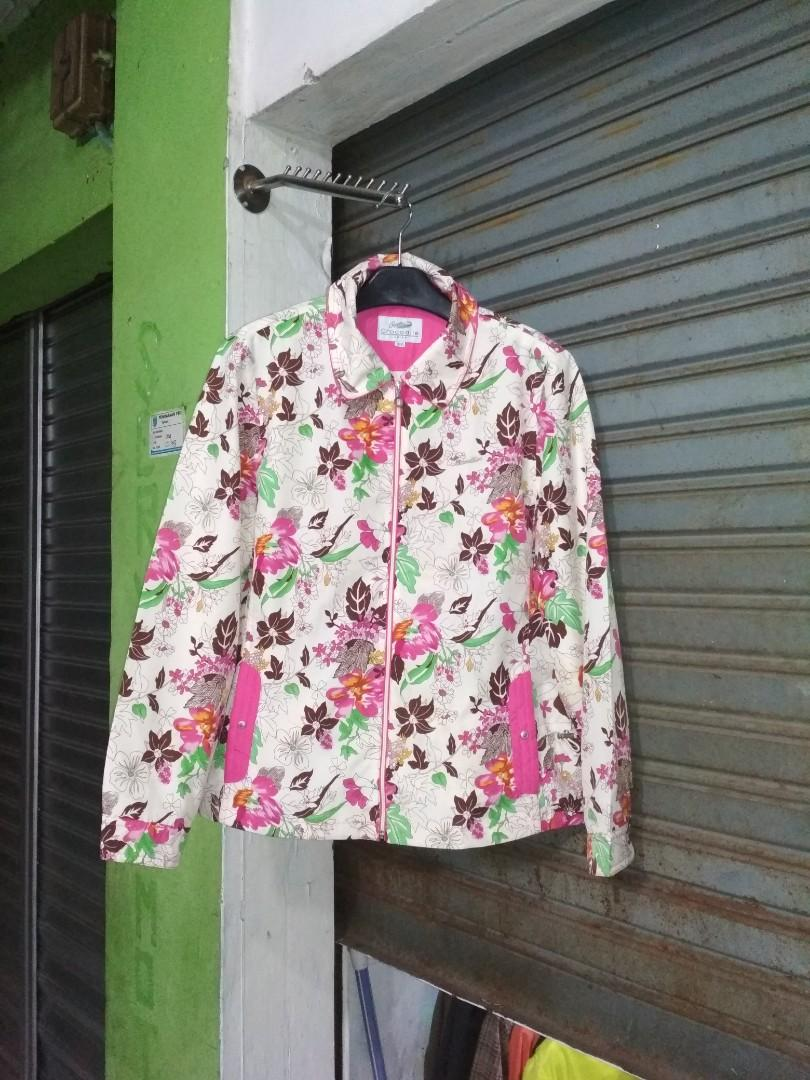 Jaket Flower Vintage Crocodile