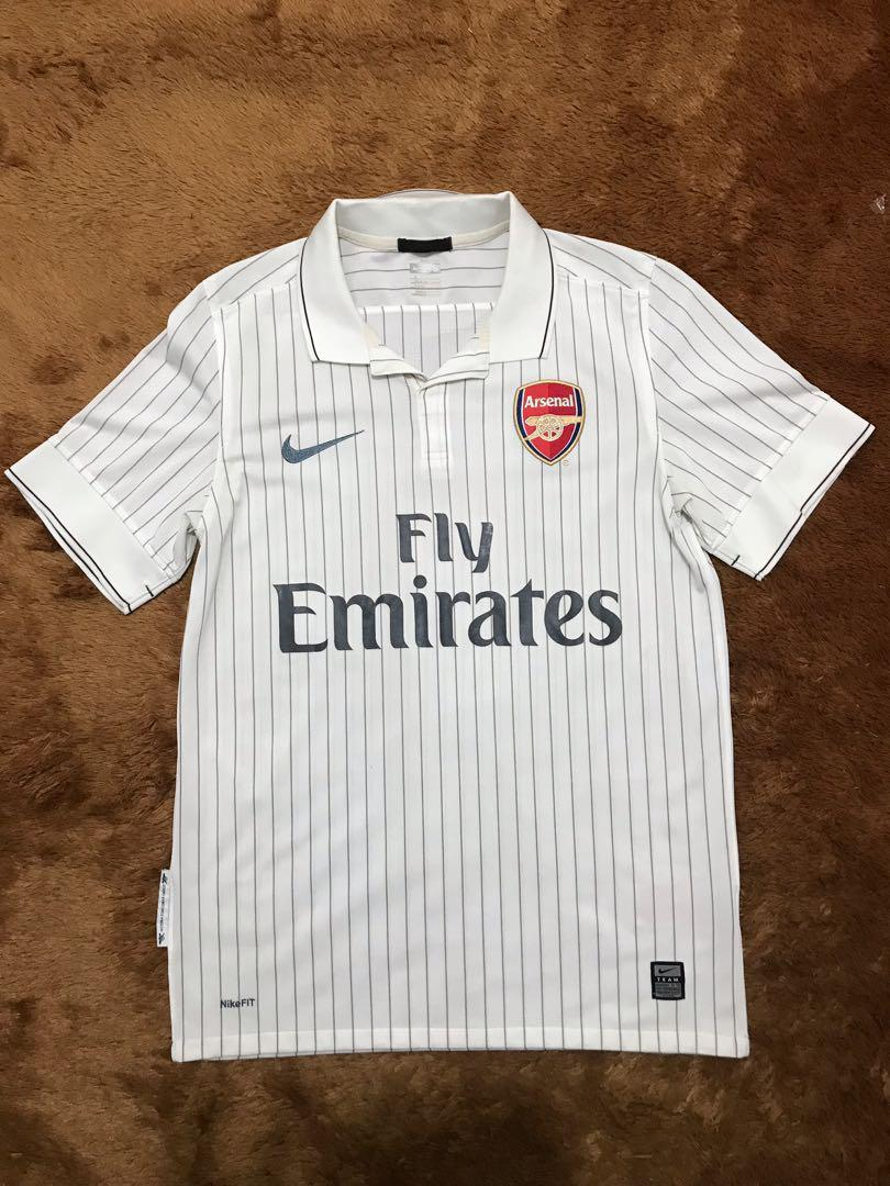 Jersey Retro Arsenal Third 09/10 Size S Original 100%