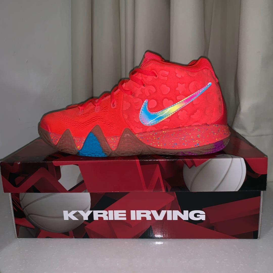 size 40 5c103 1165d Kyrie 4 Lucky Charms [GS], Men's Fashion, Footwear, Sneakers ...